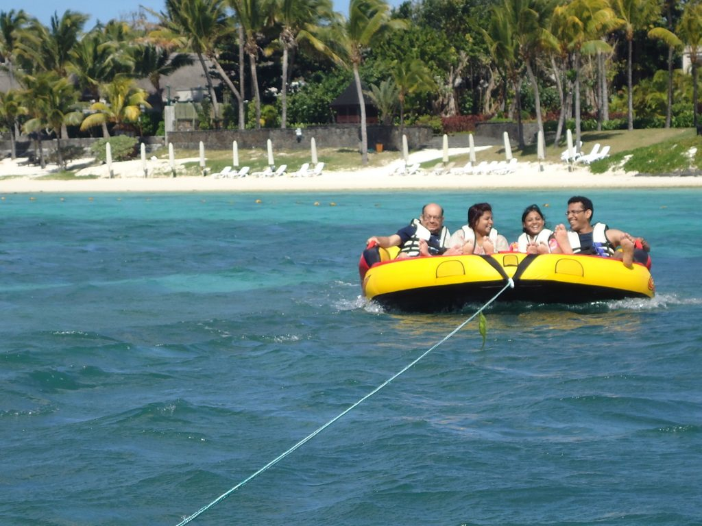 Sea adventure at Mauritius