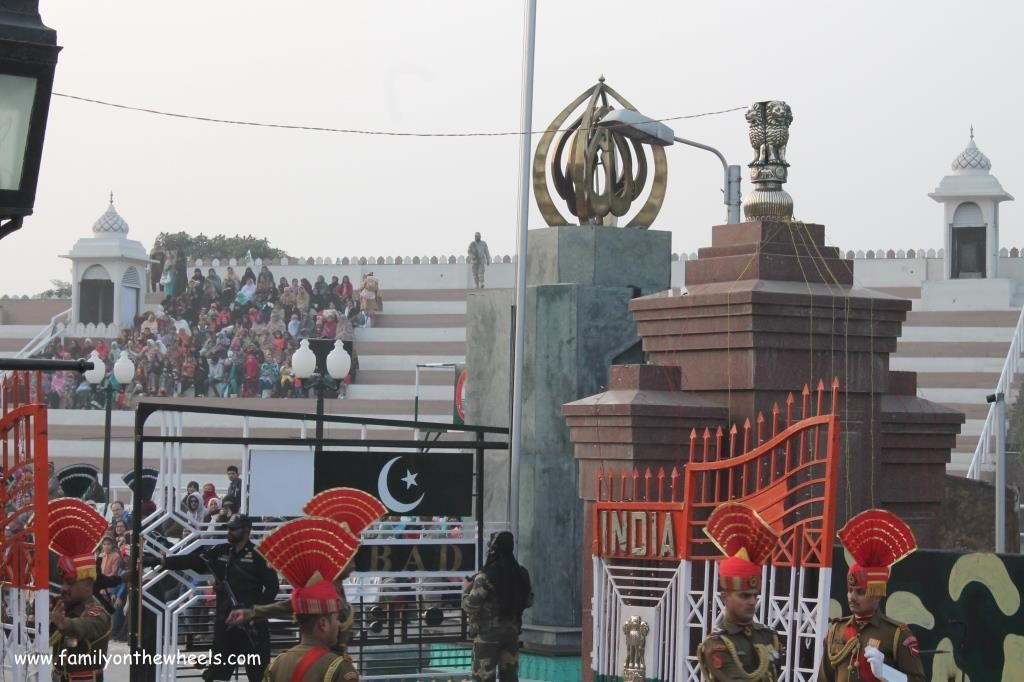 Wagah Border India Pakistan border