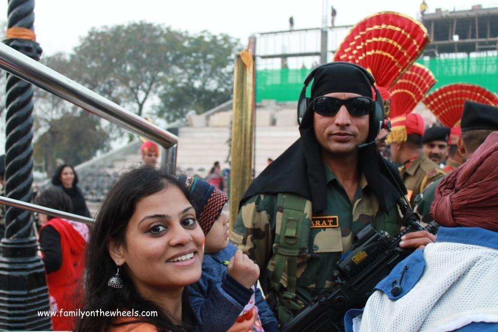 Attari India Pakistan Border