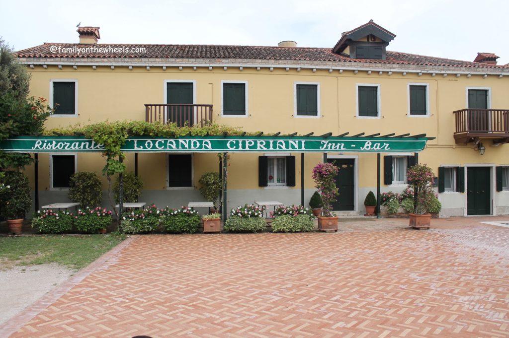 Cipriani famous ristorante