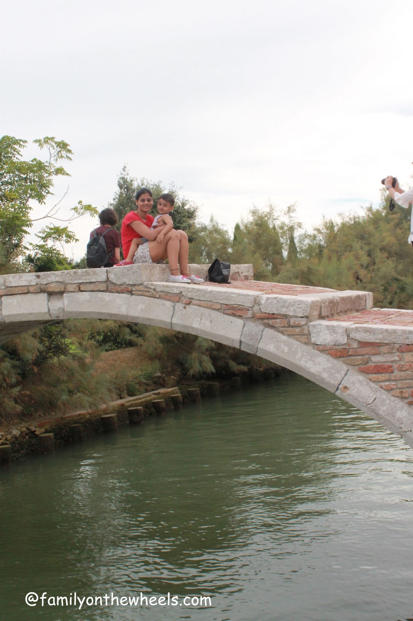 Devils bridge, Torcello, venice