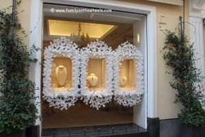 Designer showrooms at Capri, italy