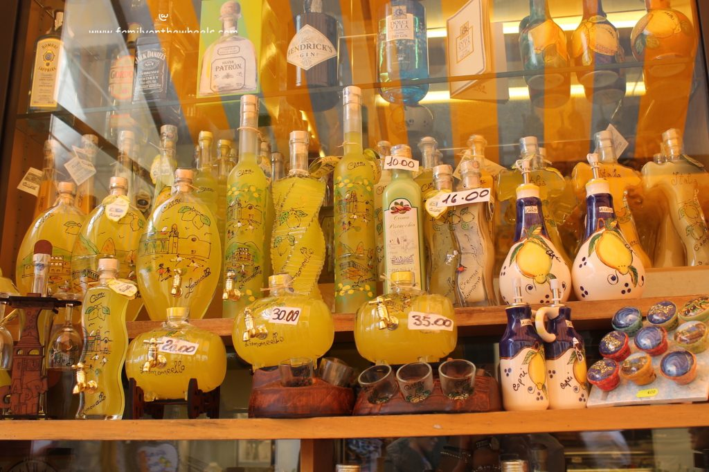 Limoncello at Capri