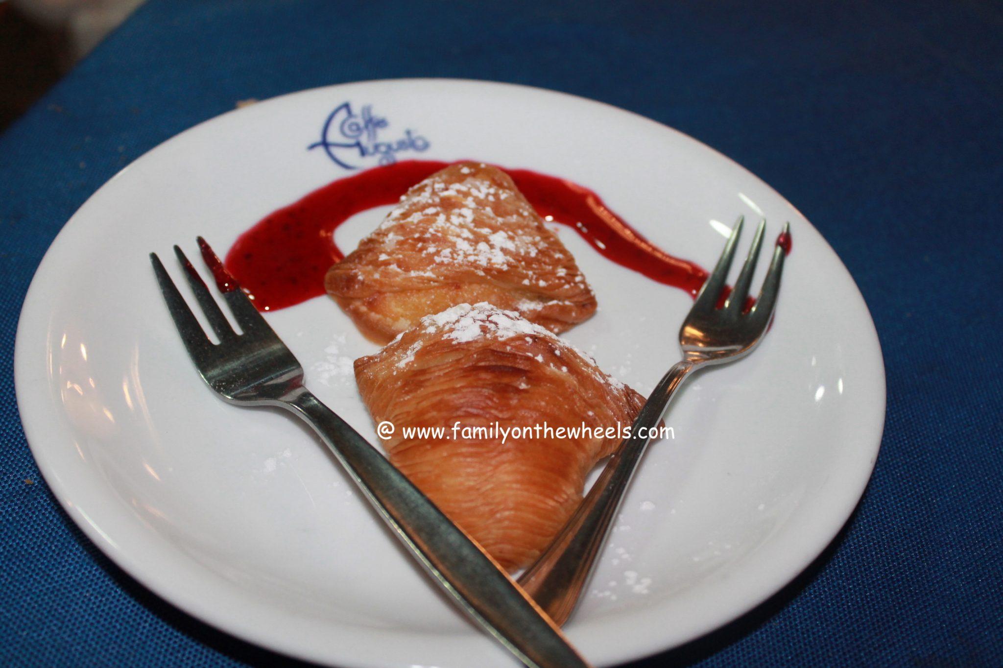 Napoletan dessert - Sfogliatella