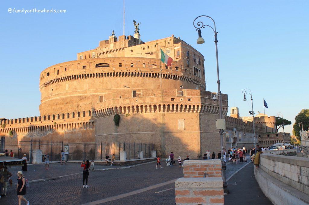 Castle Sant Angelo Rome