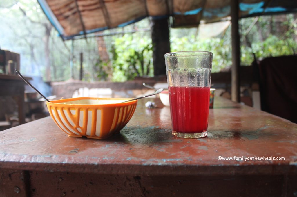 Famous Kokam Drink and Maggie at Matheran