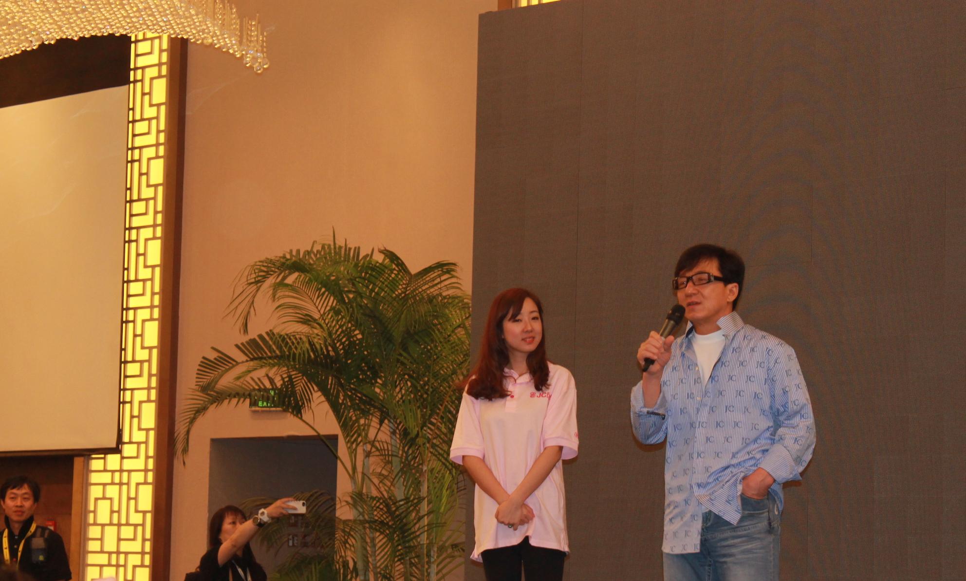 When we met Jackie Chan