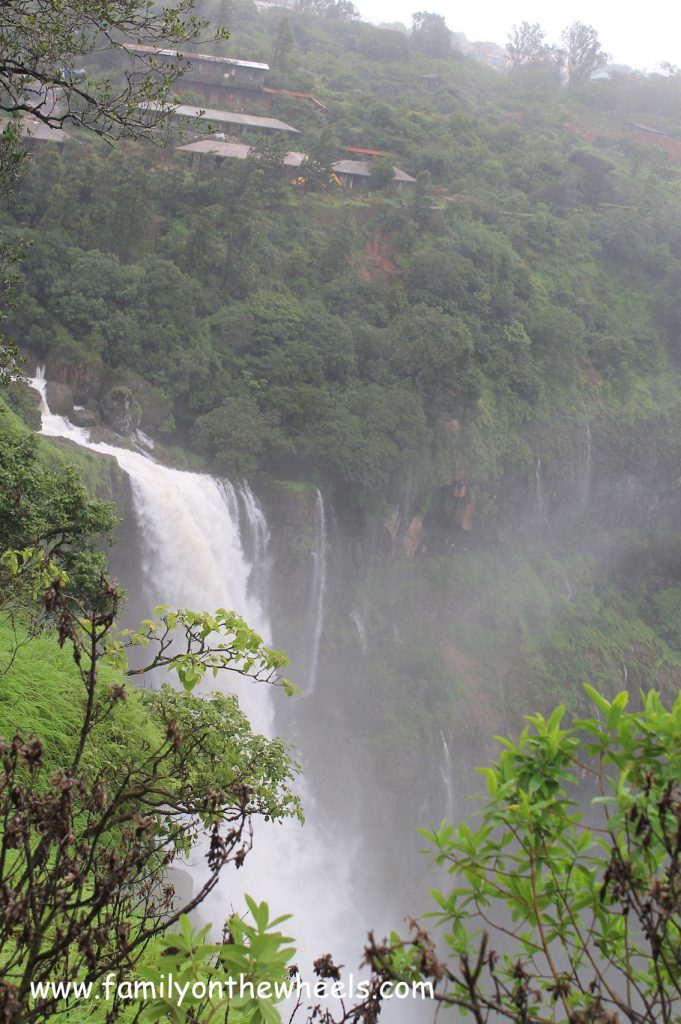 Waterfall, panchgani, travel with Kid