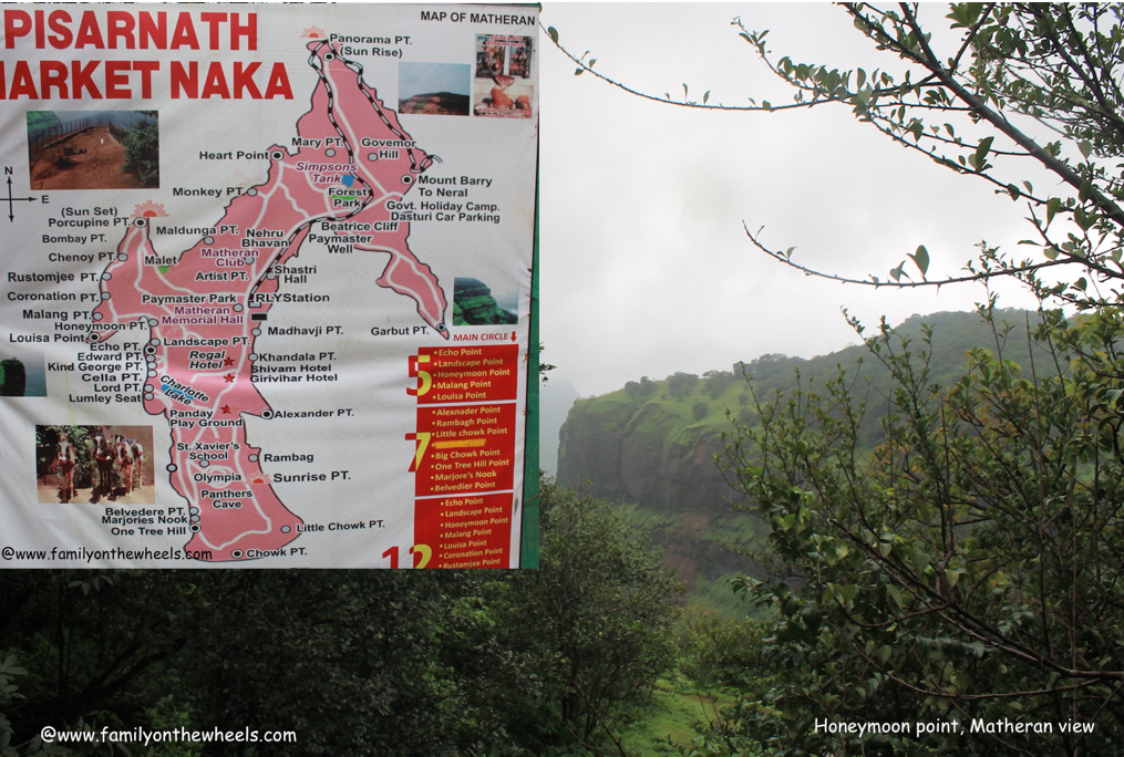 Matheran Travel map
